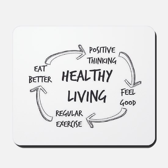 Healthy Living Mousepad