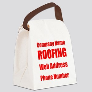 Roofing Canvas Lunch Bag