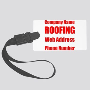 Roofing Luggage Tag