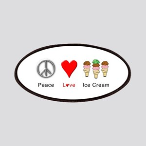 Peace Love Ice Cream Patches