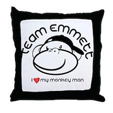 team emmett.png Throw Pillow