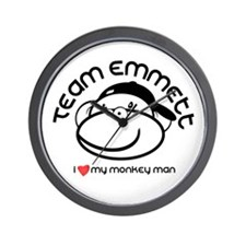 team emmett.png Wall Clock
