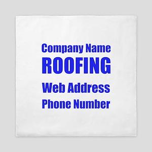 Roofing Queen Duvet