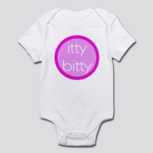 Itty Bitty - Pink Infant Bodysuit