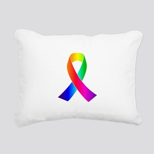 gay pride gifts Rectangular Canvas Pillow
