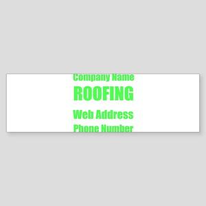 Roofing Bumper Sticker
