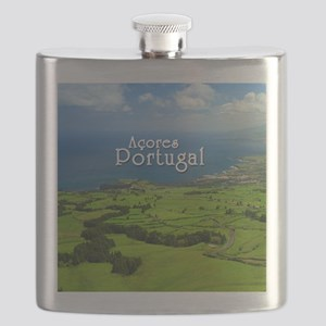 Azores - Portugal Flask