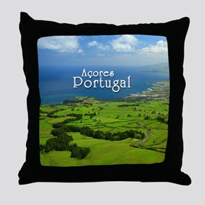 Azores - Portugal Throw Pillow