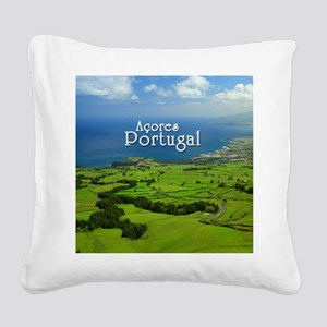 Azores - Portugal Square Canvas Pillow