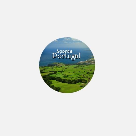 Azores - Portugal Mini Button