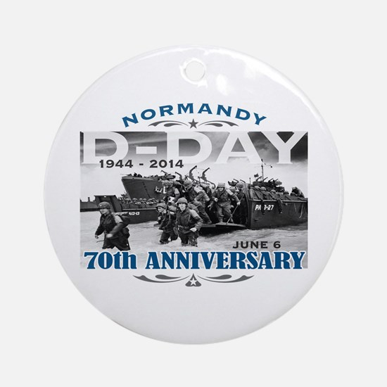 D-Day 70th Anniversary Battle of Normandy Ornament