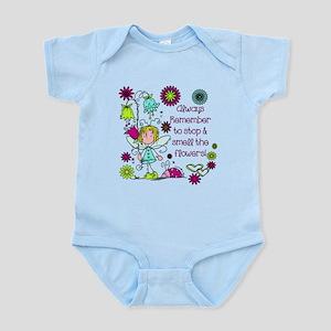 Smell the Flowers Infant Bodysuit