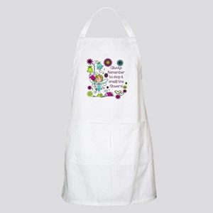 Smell the Flowers Apron