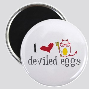 I Love Deviled Eggs Magnets