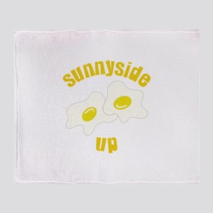Sunnyside Up Throw Blanket