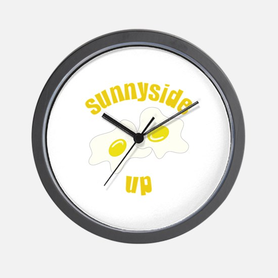 Sunnyside Up Wall Clock