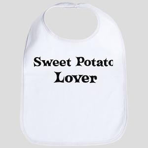 Sweet Potato lover Bib