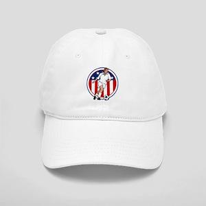 Go USA Soccer Baseball Cap