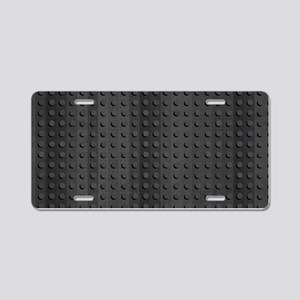 Industrial Rubber Pattern Aluminum License Plate