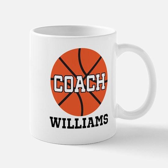 Basketball Coach Customized Mugs