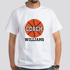 Basketball Coach Customized T-Shirt