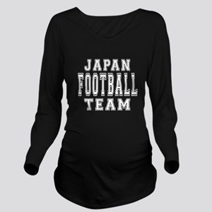 Japan Football Team Long Sleeve Maternity T-Shirt