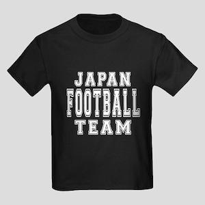 Japan Football Team Kids Dark T-Shirt