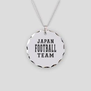 Japan Football Team Necklace Circle Charm