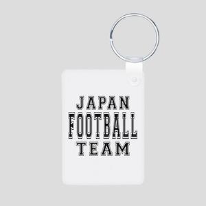 Japan Football Team Aluminum Photo Keychain