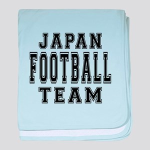 Japan Football Team baby blanket