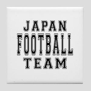 Japan Football Team Tile Coaster