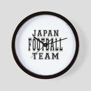 Japan Football Team Wall Clock