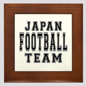 Japan Football Team Framed Tile