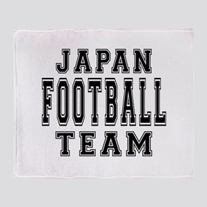 Japan Football Team Throw Blanket