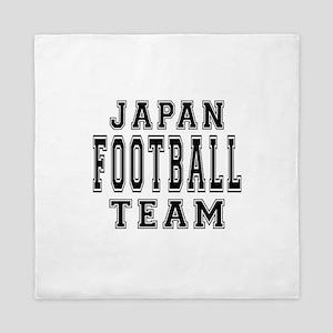 Japan Football Team Queen Duvet