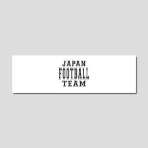 Japan Football Team Car Magnet 10 x 3