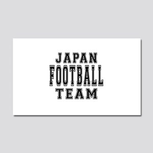 Japan Football Team Car Magnet 20 x 12