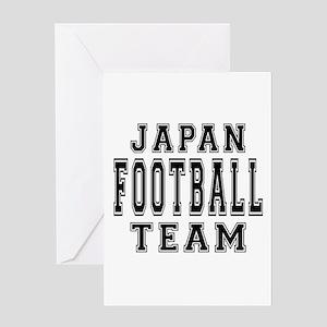 Japan Football Team Greeting Card