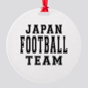 Japan Football Team Round Ornament