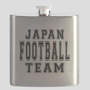 Japan Football Team Flask