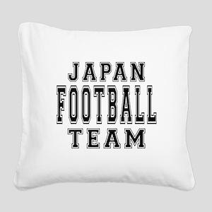 Japan Football Team Square Canvas Pillow