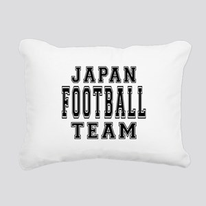 Japan Football Team Rectangular Canvas Pillow