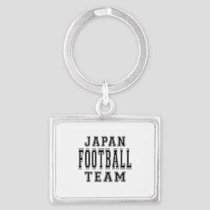 Japan Football Team Landscape Keychain