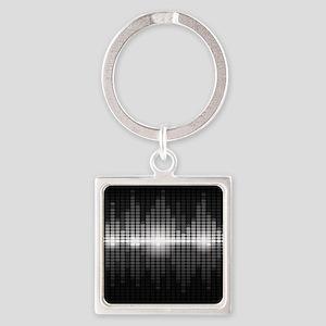 Sound Wave Keychains