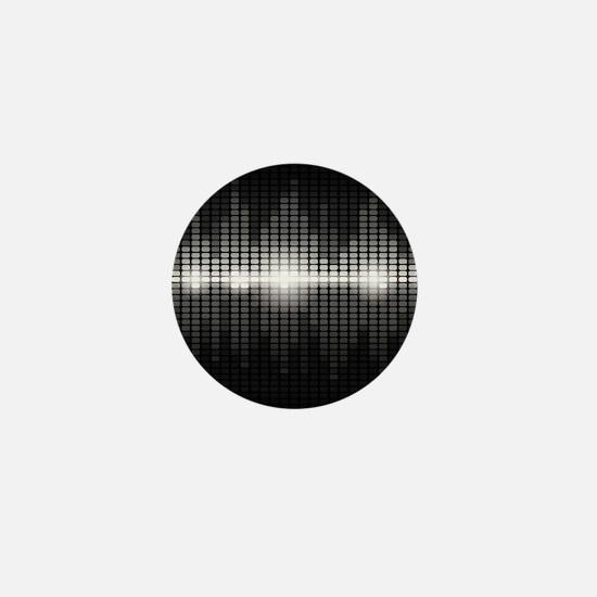 Sound Wave Mini Button