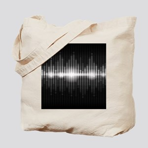 Sound Wave Tote Bag