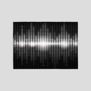 Sound Wave 5'x7'Area Rug