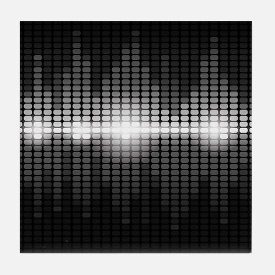 Sound Wave Tile Coaster