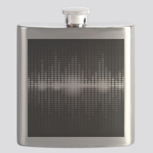 Sound Wave Flask