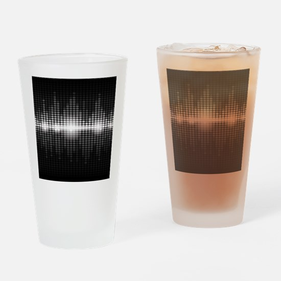 Sound Wave Drinking Glass